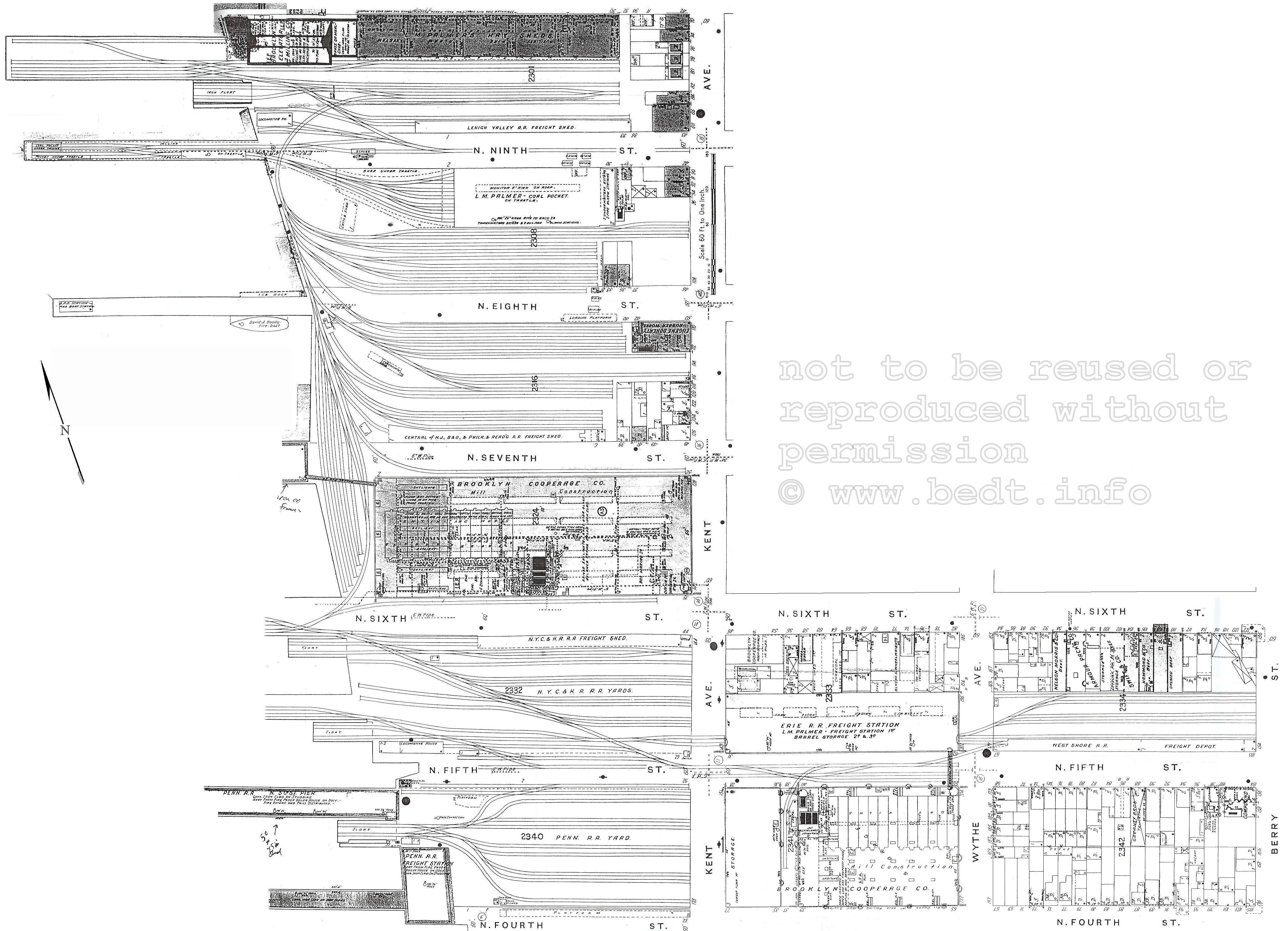 Brooklyn Eastern District Terminal Bedt East River 1911 Barrel Schematic Diagram Get Free Image About Wiring Railroad Palmers Dock