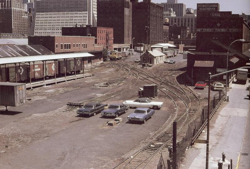 West 28th Street Yard May 1974