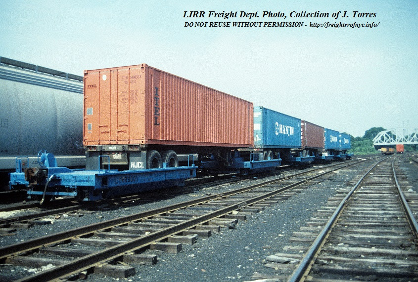 June 1989 fresh pond yard queens ny a loaded set of bogies - Garden city ny distribution center ...