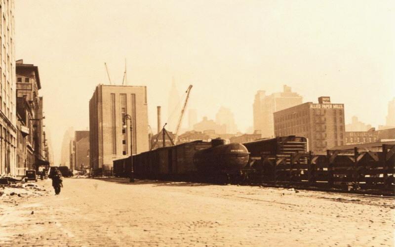 New York Central Railroad West 39th Street Yard Twelfth