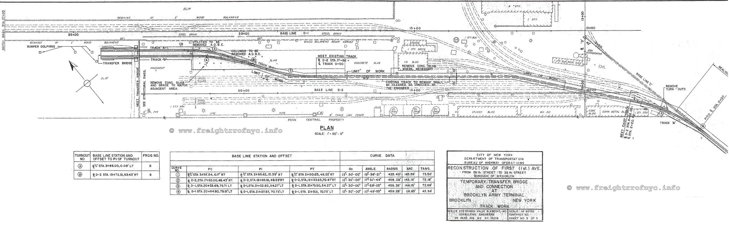 New York Dock Johnson Outboard Wiring Diagram For 1956 City Of Department Transportation Bureau Highway Operations Reconstruction First Avenue From 58th Street To 39th Borough