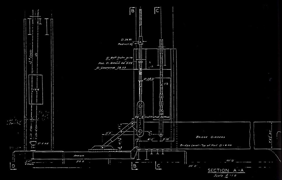Development Of The Carfloat Transfer Bridge In New York Harbor Truss Diagram Track Pony By Pennsylvania Railroad General Plan 10 November 1924 Office Engineering Bridges And Buildings